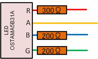 LEDモジュール配線
